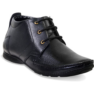 Adybird Men's Black Lace-Up Casual Shoes