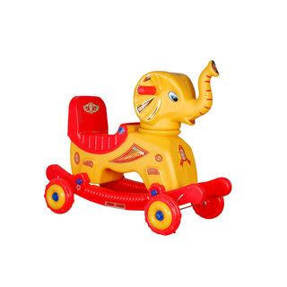 Chetak Yellow Red Elephant for Kids