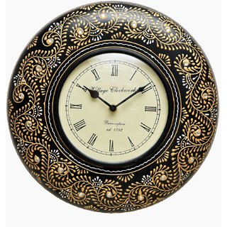 Royal Vintage Printing Wall Clock (Hand Made)