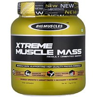 Big Muscle Muscle Mass 6 Lbs Strawberry Flavour