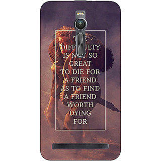 Absinthe LOTR Hobbit  Back Cover Case For Asus Zenfone 2 ZE550 ML
