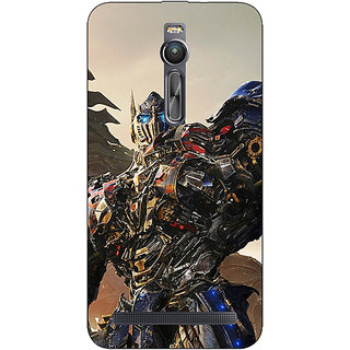 Absinthe Transformers Optimus Prime Back Cover Case For Asus Zenfone 2 ZE550 ML