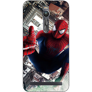 Absinthe Superheroes Spiderman Back Cover Case For Asus Zenfone 2 ZE550 ML
