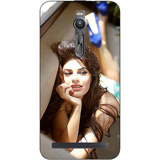 Absinthe Bollywood Superstar Jacqueline Fernandez Back Cover Case For Asus Zenfone 2