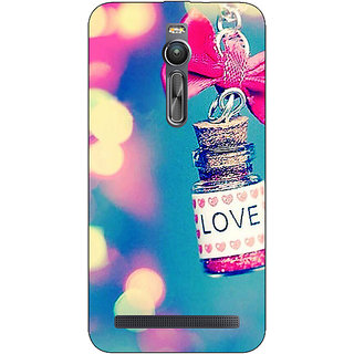 Absinthe Love Bottle Back Cover Case For Asus Zenfone 2 ZE550 ML