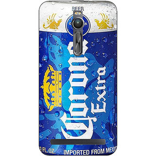 Absinthe Corona Beer Back Cover Case For Asus Zenfone 2