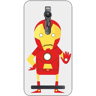 Absinthe Superheroes Iron Man Back Cover Case For Asus Zenfone 2 ZE550 ML