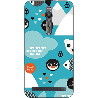 Absinthe Winter Pattern  Back Cover Case For Asus Zenfone 2