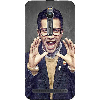 Absinthe Bollywood Superstar Varun Dhawan Back Cover Case For Asus Zenfone 2 ZE550 ML