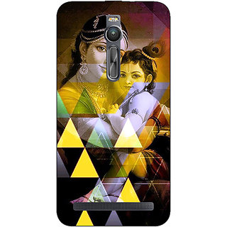 Absinthe Lord Krishna Back Cover Case For Asus Zenfone 2