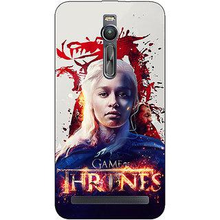 Absinthe Game Of Thrones GOT Khaleesi Daenerys Targaryen Back Cover Case For Asus Zenfone 2