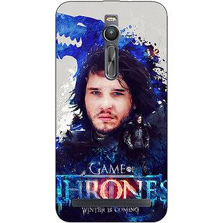 Absinthe Game Of Thrones GOT Jon Snow House Stark Back Cover Case For Asus Zenfone 2