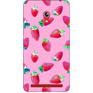 Absinthe Strawberry Pattern Back Cover Case For Asus Zenfone 6 600CG
