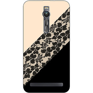 Absinthe Lace Pattern Back Cover Case For Asus Zenfone 2 ZE550 ML