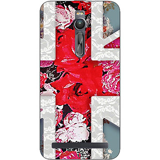 Absinthe Floral Back Cover Case For Asus Zenfone 2 ZE550 ML