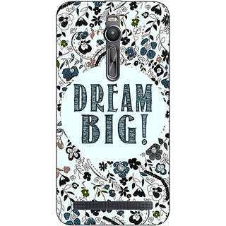 Absinthe Dream Quote Back Cover Case For Asus Zenfone 2 ZE550 ML