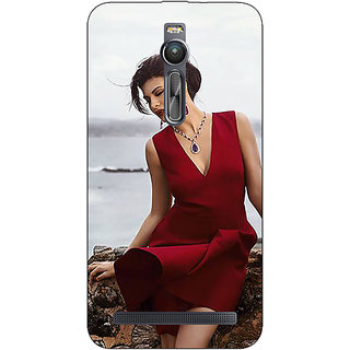 Absinthe Bollywood Superstar Jacqueline Fernandez Back Cover Case For Asus Zenfone 2 ZE550 ML