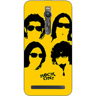 Absinthe Bollywood Superstar Rock On Back Cover Case For Asus Zenfone 2 ZE550 ML