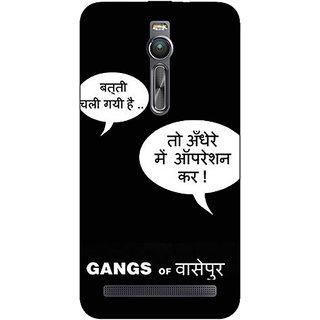 Absinthe Bollywood Superstar Gangs Of Wasseypur Back Cover Case For Asus Zenfone 2 ZE550 ML