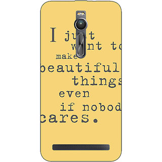 Absinthe Quote Back Cover Case For Asus Zenfone 2 ZE550 ML