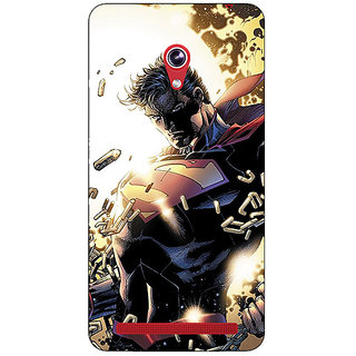 Absinthe Superheroes Superman Back Cover Case For Asus Zenfone 6 600CG