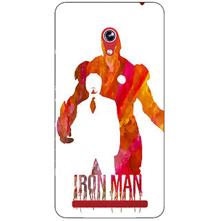 Absinthe Superheroes Iron Man Back Cover Case For Asus Zenfone 6 600CG