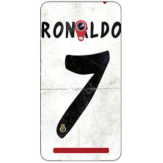 Absinthe Real Madrid Ronaldo Back Cover Case For Asus Zenfone 6 600CG