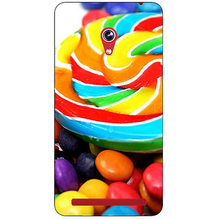 Absinthe Candies Back Cover Case For Asus Zenfone 6 600CG