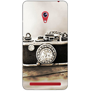 Absinthe Vintage Camera  Back Cover Case For Asus Zenfone 6 600CG