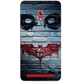 Absinthe Villain Joker Back Cover Case For Asus Zenfone 6 601CG