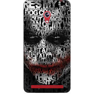 Absinthe Villain Joker Back Cover Case For Asus Zenfone 6 600CG