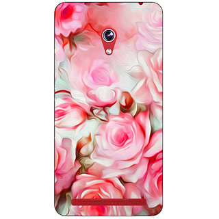Absinthe Floral Pattern  Back Cover Case For Asus Zenfone 6 600CG