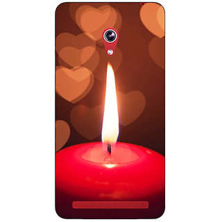 Absinthe Candle Light Romance Back Cover Case For Asus Zenfone 6 600CG