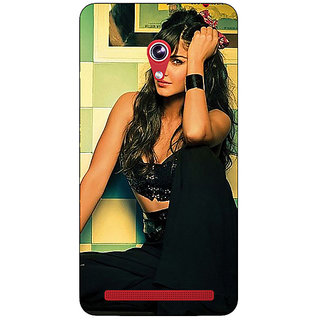 Absinthe Bollywood Superstar Katrina Kaif Back Cover Case For Asus Zenfone 6 600CG