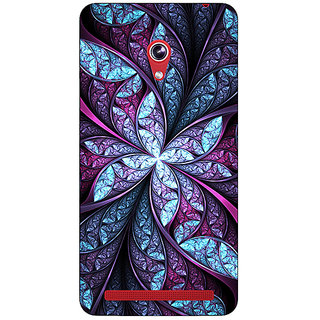Absinthe Abstract Flower Pattern Back Cover Case For Asus Zenfone 6 600CG