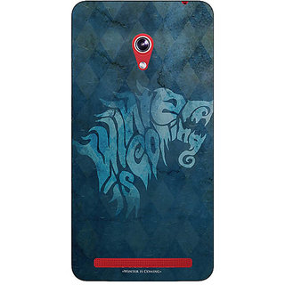 Absinthe Game Of Thrones GOT House Stark  Back Cover Case For Asus Zenfone 6 601CG