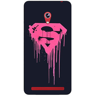Absinthe Superheroes Superman Back Cover Case For Asus Zenfone 6 601CG