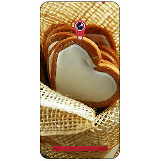 Absinthe Heart Cookies Back Cover Case For Asus Zenfone 6 601CG
