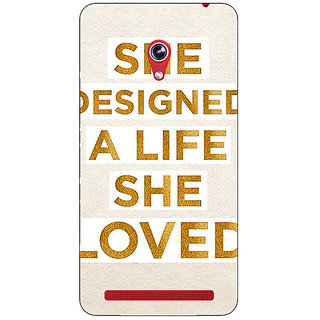 Absinthe Quotes Beautiful Back Cover Case For Asus Zenfone 6 601CG