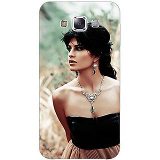 Absinthe Bollywood Superstar Jacqueline Fernandez Back Cover Case For Samsung Grand Max