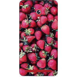 Absinthe Strawberry Pattern Back Cover Case For Asus Zenfone 6 601CG