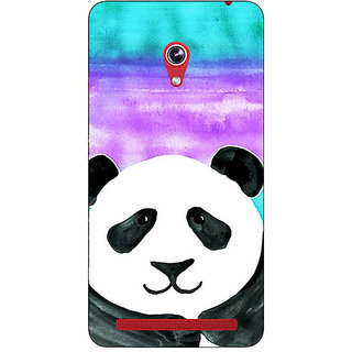 Absinthe Panda Pattern Back Cover Case For Asus Zenfone 6 601CG