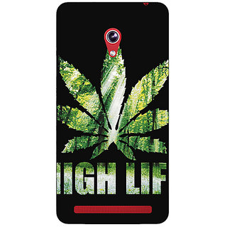 Absinthe Weed Marijuana Back Cover Case For Asus Zenfone 6 601CG