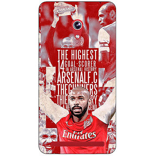 Absinthe Arsenal Therry Henry Back Cover Case For Asus Zenfone 6 601CG