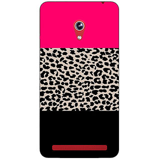 Absinthe Leopard Pattern  Back Cover Case For Asus Zenfone 6 601CG