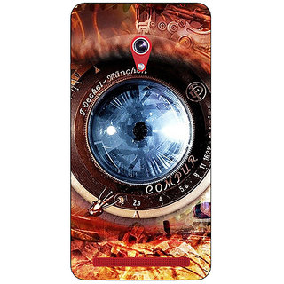 Absinthe Lens Eye Back Cover Case For Asus Zenfone 6 601CG
