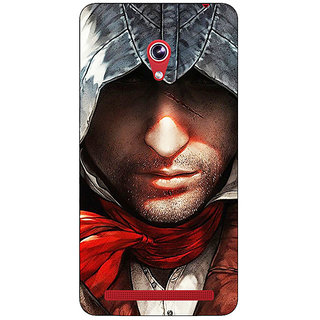 Absinthe Assassins Creed Back Cover Case For Asus Zenfone 6 601CG