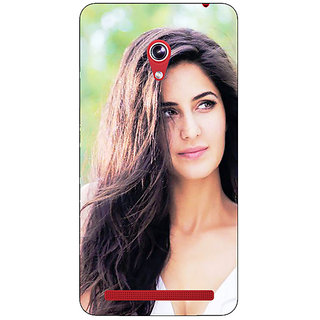 Absinthe Bollywood Superstar Katrina Kaif Back Cover Case For Asus Zenfone 6 601CG