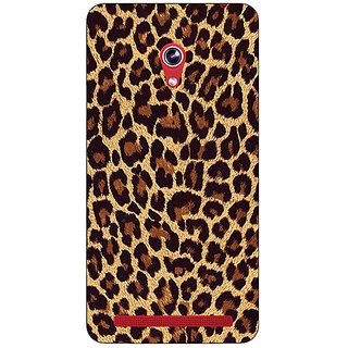 Absinthe Leopard Cheetah Pattern Back Cover Case For Asus Zenfone 6 601CG