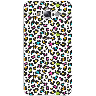 Absinthe Cheetah Leopard Print Back Cover Case For Samsung A8